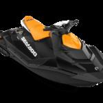 Sea My21 Reclt Spark 90 2up Conv Pack Orange Crush Deep Black 34frt Hr