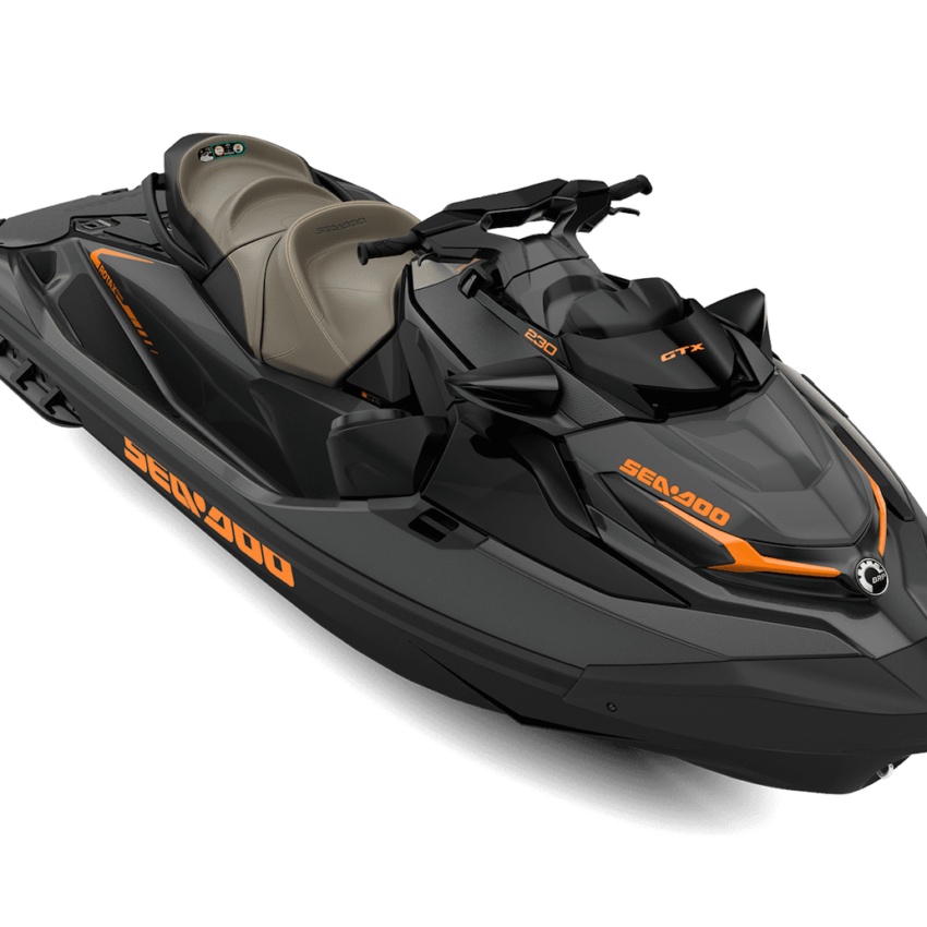 Sea My21 Tour Gtx 230 Ss Eclipse Black Orange Crush 34frt Hr