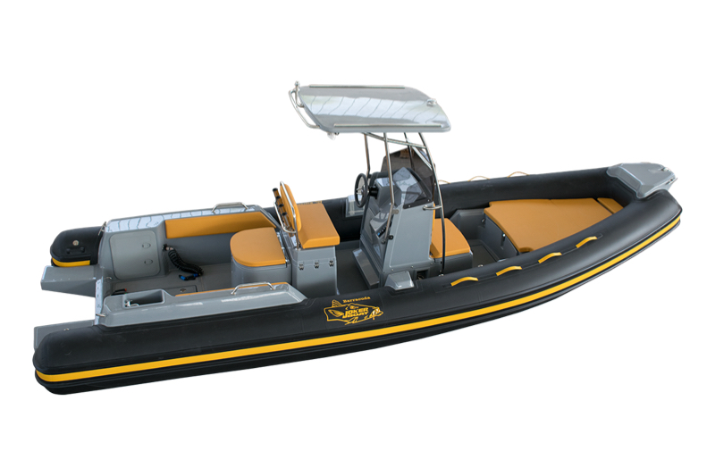 Gommone Joker Boat Coaster 650 Barracuda Barracuda Senape Scontornato