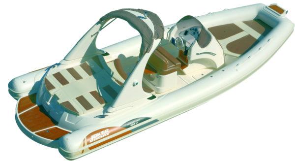 Gommone Joker Boat Wide 800 New Mainstream 800 No Background