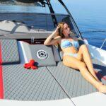 Saver 330 Walkaround Nautic Service Lago Di Garda Prendisole Prua Con Francesca7 (fondale)