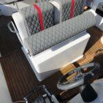 Saver 330 Walkaround Nautic Service Lago Di Garda Sedile Guida Alzato
