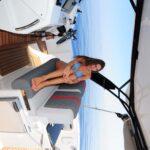 Saver 330 Walkaround Nautic Service Lago Di Garda Seduta Guida Con Francesca2