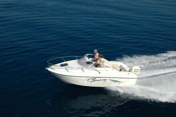 Saver 590 Cabin Nautic Service Lago Di Garda Dsc 0023