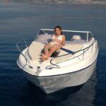 Saver 590 Cabin Nautic Service Lago Di Garda Prendisole Prua