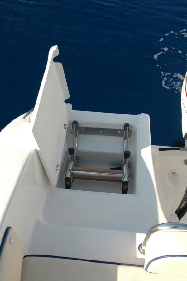 Saver 590 Cabin Nautic Service Lago Di Garda Scaletta