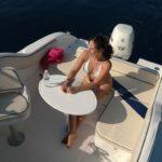 Saver 590 Cabin Nautic Service Lago Di Garda Tavolo Poppa
