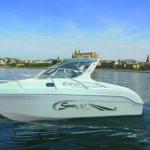 Saver 650 Cabin Sport Nautic Service Lago Di Garda Vista Laterale Montata