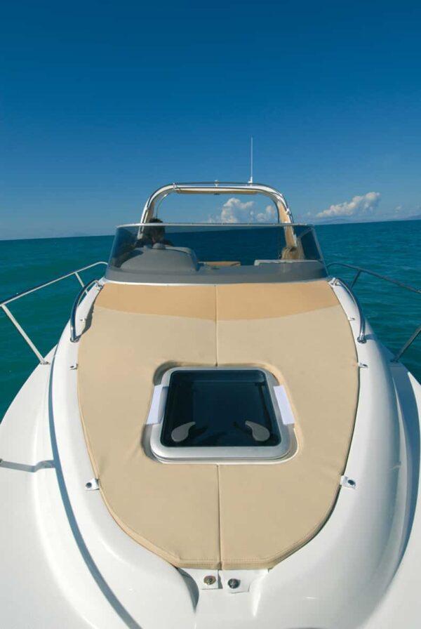 Saver 690 Cabin Sport Nautic Service Lago Di Garda Prendisole Prua3