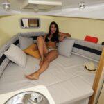 Saver 750 Cabin Sport Nautic Service Lago Di Garda Letto Prua12