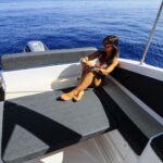 Saver 750 Cabin Sport Nautic Service Lago Di Garda Prendisole Poppa